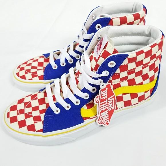 Vans Shoes | New Vans Sk8 Hi Top Red